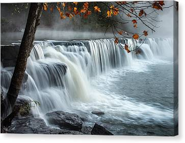 Natural Dam Falls Canvas Print by James Barber