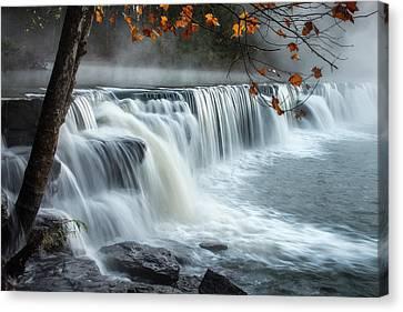 Natural Dam Falls Canvas Print