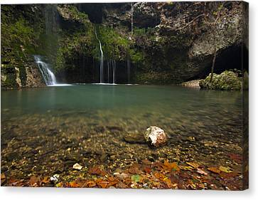 Natural Falls Canvas Print