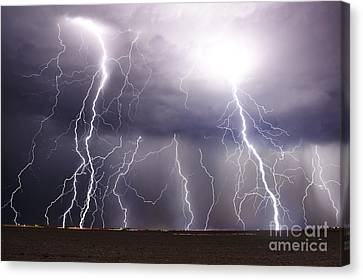 Natural Fury Canvas Print