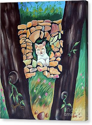Natural Home Canvas Print by Ragunath Venkatraman