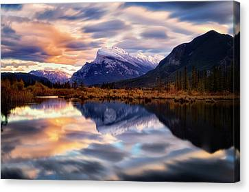Natural Mirror Canvas Print