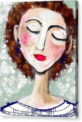 Natural Redhead Canvas Print by Elaine Lanoue