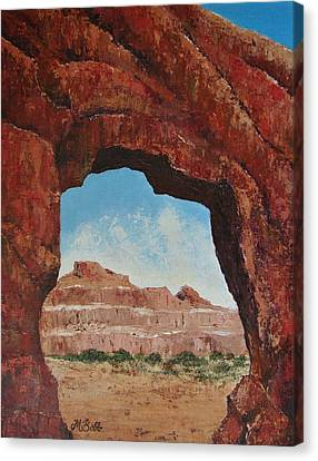 Natural Window Canvas Print