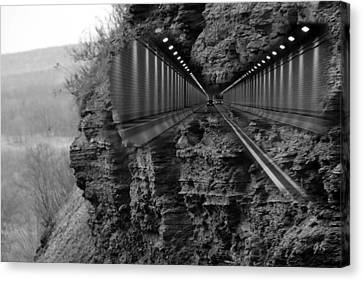 Nature And Technology Canvas Print by Gerlinde Keating - Galleria GK Keating Associates Inc
