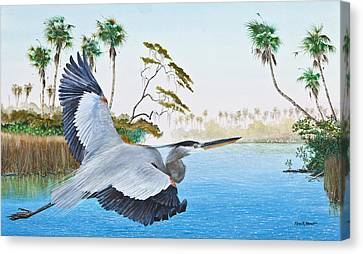Nature Coast 2 Canvas Print by Kevin Brant