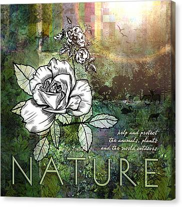 Nature Canvas Print by Evie Cook