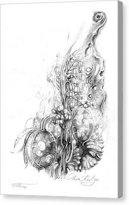 Nature Inspiration Canvas Print by Olena Kulyk