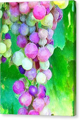 Canvas Print featuring the photograph Nature Made  by Heidi Smith
