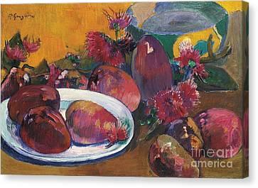 Nature Morte Aux Mangos Canvas Print by Celestial Images