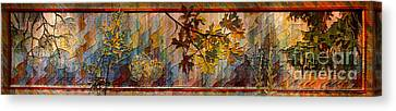 Nature Tapestry 1997 Canvas Print by Padre Art