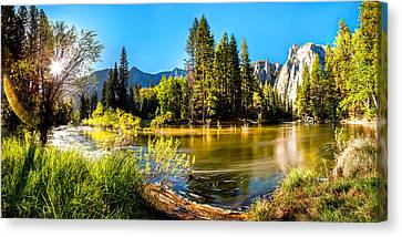 Early Morning Canvas Print - Nature's Awakening by Az Jackson