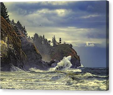 Natures Beauty Unleashed Canvas Print by James Heckt
