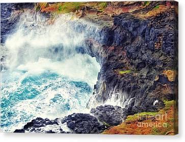 Natures Cauldron Canvas Print by Blair Stuart