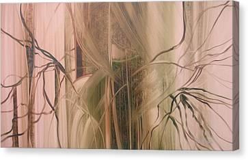 Nature's Cry Canvas Print by Fatima Stamato