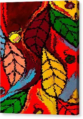 Natures Explosion Canvas Print