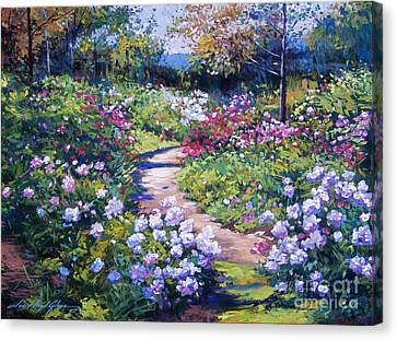 Nature's Garden Canvas Print by David Lloyd Glover