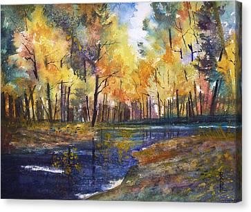 Nature's Glory Canvas Print by Ryan Radke