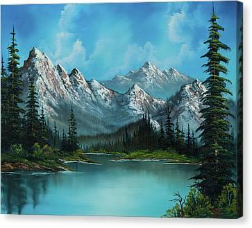 Nature's Grandeur Canvas Print
