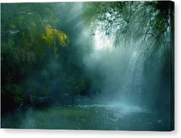 Nature's Mystique Canvas Print by Georgiana Romanovna