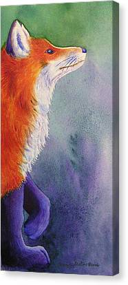 Natures Redhead Canvas Print by Tracy L Teeter