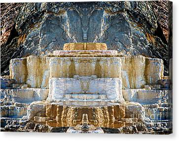 Canvas Print featuring the photograph The Throne by Robert Pearson