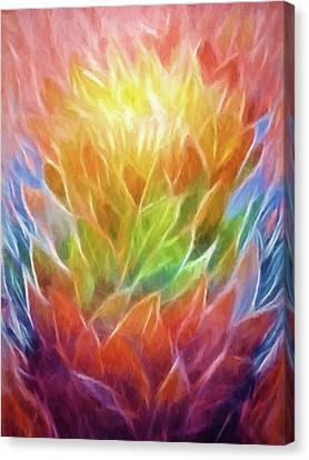 Natures Vigor Canvas Print by Lutz Baar