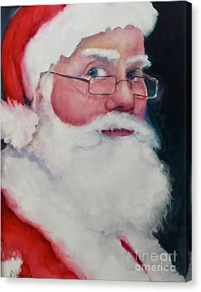 Naughty Or Nice ? Santa 2016 Canvas Print