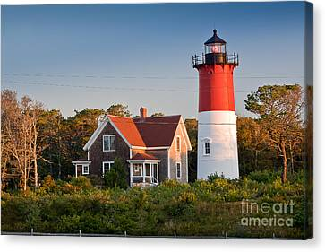 Keeper Canvas Print - Nauset Beach Light by Susan Cole Kelly