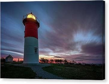 Nauset Lighthouse Canvas Print by Rick Berk