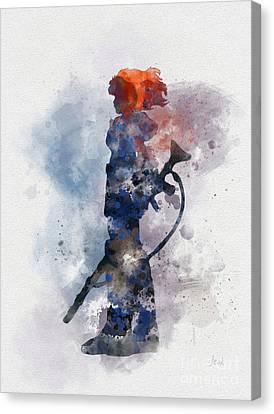Nausicaa Canvas Print by Rebecca Jenkins