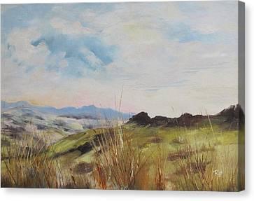 Nausori Highlands Of Fiji Canvas Print