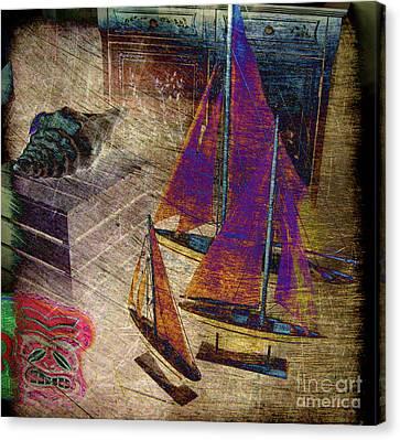 Nautica-iii Canvas Print by Susanne Van Hulst