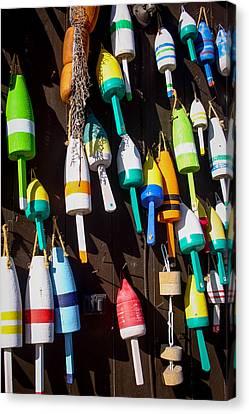 Nautical Buoys Canvas Print