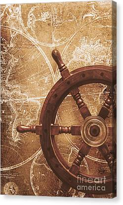 Nautical Exploration  Canvas Print