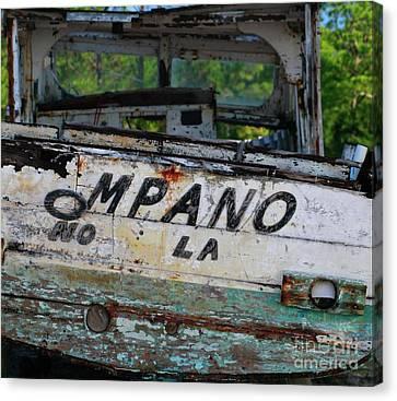 Canvas Print featuring the photograph Nautical Miles by Lori Mellen-Pagliaro