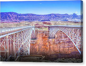 Navajo Bridge Canvas Print by Mark Dunton