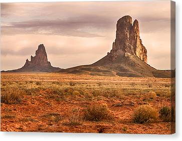 Navajo Nation Kayenta Monuments Canvas Print