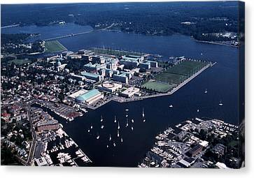 Naval Academy Canvas Print by Skip Willits
