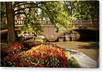 Navarro Street Bridge Canvas Print by Steven Sparks