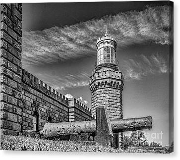 Navesink Twin Lights North Tower Canvas Print