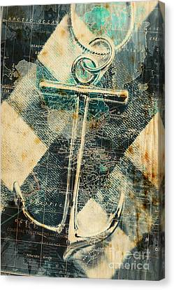 Navigation Sea Anchor Canvas Print by Jorgo Photography - Wall Art Gallery