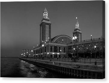 Navy Pier In Chicago Canvas Print by Twenty Two North Photography