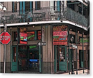 Nawlins Canvas Print by David Bearden