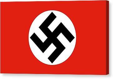 Nazi Flag 1920-1945 Canvas Print