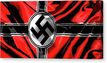 Nazi Flag Color Added 2016 Canvas Print