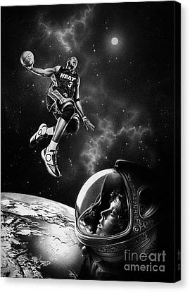 Nba Live  Canvas Print
