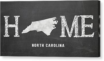 Nc Home Canvas Print by Nancy Ingersoll