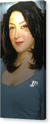Ncis Kate Canvas Print by Crystal Webb