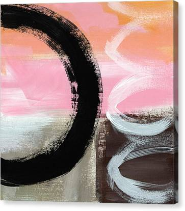 Neapolitan 3 - Abstract Painting Canvas Print by Linda Woods